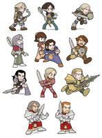 Dragon Age Origins Random NPC by SandikaRakhim