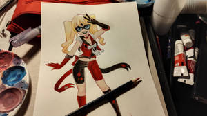 Senshi Harley queen by kadjura