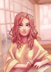 girl by kadjura