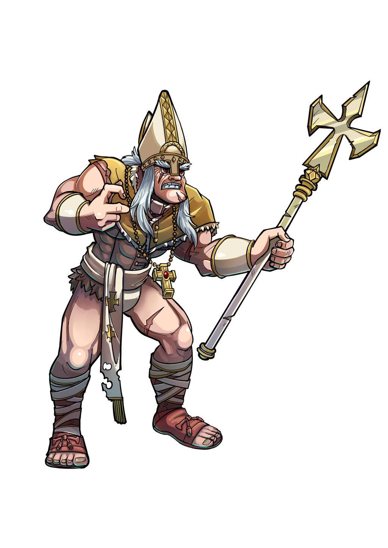 Pope the barbarian by kadjura