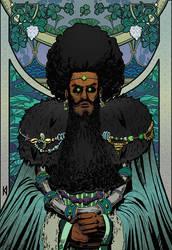 Clover King by kadjura