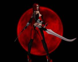 Blood moon by mememo