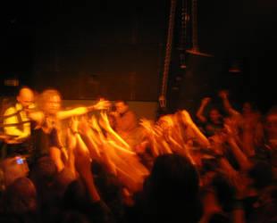Jonne and the fans by Korpiklaani-fanclub