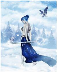 Queen of Owls by lryiu