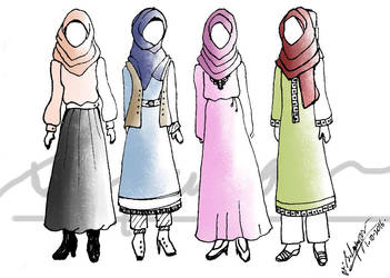 Hijab Designs by amiablez