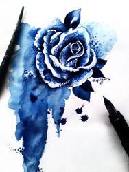 Inky Rose by amiablez