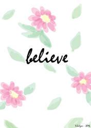 Believe by amiablez
