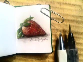 Strawberry by amiablez