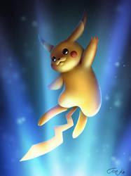 Pikachu by TomkaViolea