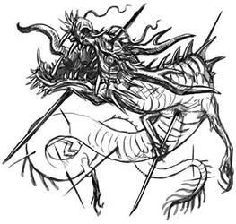 Zombie Oriental Dragon by aogachou