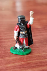 Old Ral Partha armored cleric mini 80's. by Gunderic