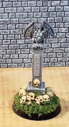 grave of skulls by Gunderic