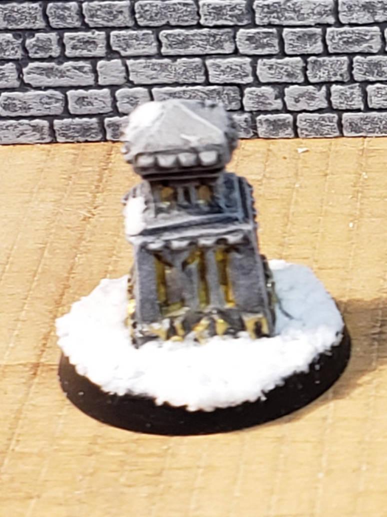 Dwarf stone marker by Gunderic