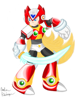 Megaman X - Zero by UrsineTimes