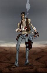 Gunslinger by hangemhigh13