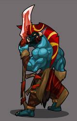 DoTA Allstars: Sacred Warrior by hangemhigh13