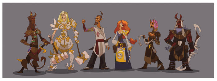 DnD Party Lineup XI by hangemhigh13