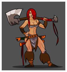 Red Sonja by hangemhigh13