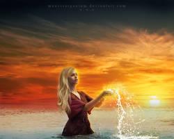 Ocean Girl by MaraSFM