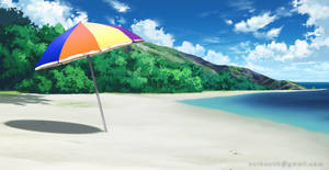 Beach - VN Background by Vui-Huynh