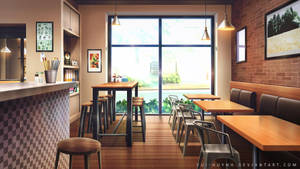 Coffee Shop by Vui-Huynh
