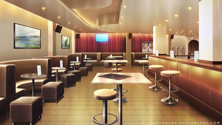 Interior bar area by Vui-Huynh