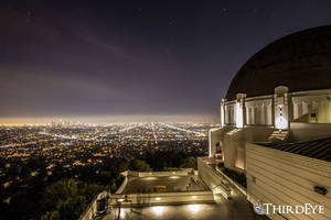 Griffith Observatory, Hollywood Hills by The-ThirdEye