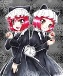 :: Victorian Cat Girls :: by oliko