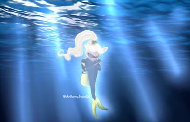 Aqua Queen Bee (Chloe Bourgeois ) by AnthonySnow06