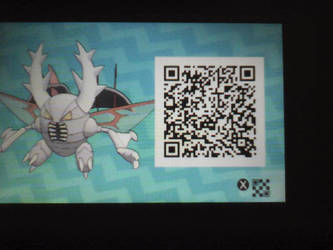 Mega Pinsir QR Code Pokemon US/UM by PokemonDBZFan10000