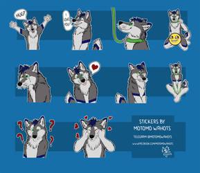 Majkii telegram stickers pack by Vlcek