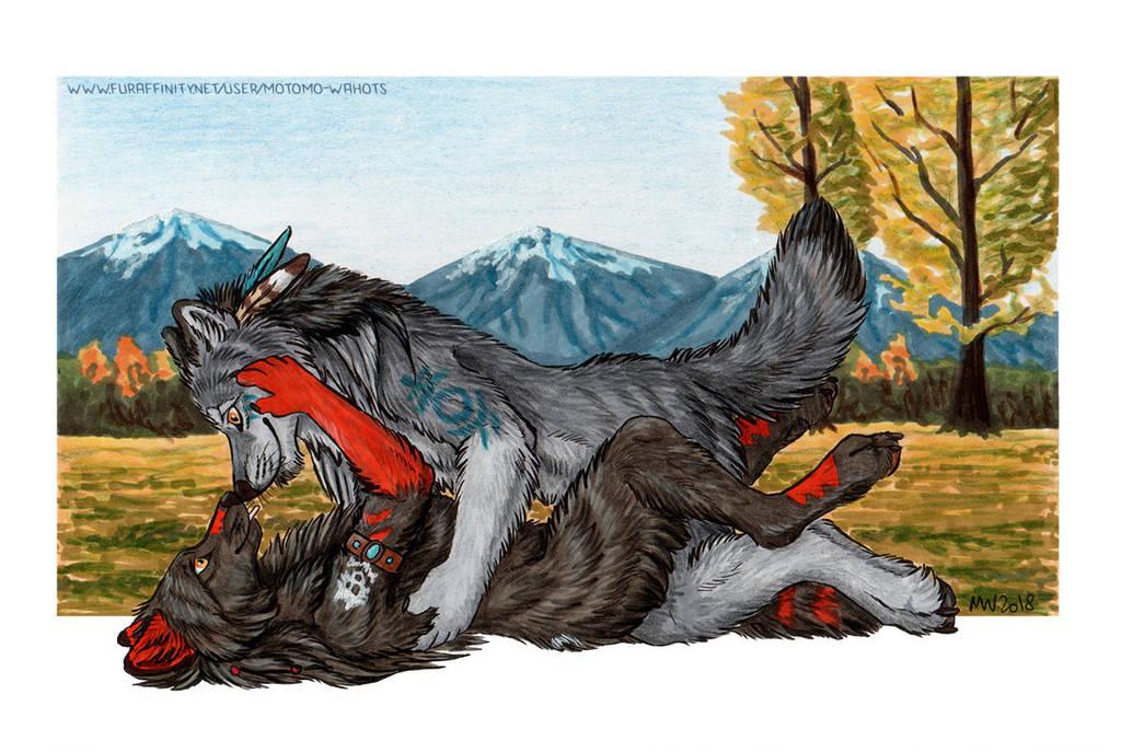 Autumn romance by Vlcek