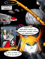 Transformers vs GoBots P30 by Giga-Leo
