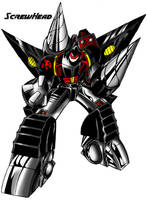 Gobots Revamp: ScrewHead by Giga-Leo