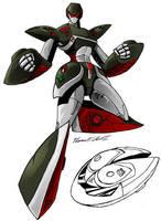 Gobots redesign: Pathfinder by Giga-Leo