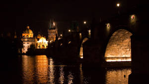 Night in Prague by Bozack