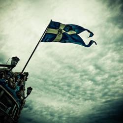Flying the flag by JBridges