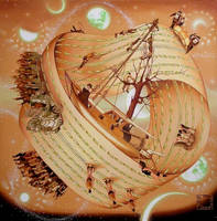 The ship of fools in infinity by lizaray