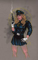Lady Blackhawk by MMcDArt