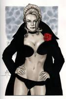 Black Queen by MMcDArt