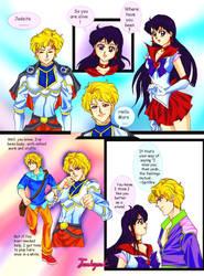 Sailormars Jadeite: Alive Again by junkgoat