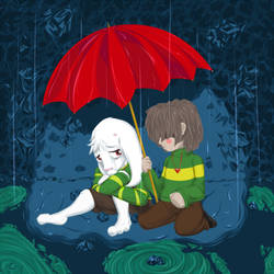 UNDERTALE  - Together (Story in Description) by Registered111