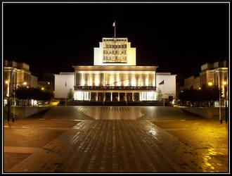 Brest's Town Hall by maverick2001