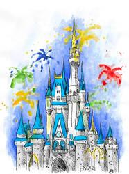 Cinderella's Castle by elyon192