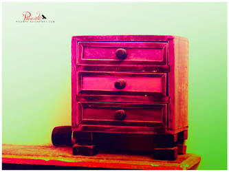 Secretive Colors in a Drawer by Picanta