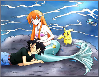 A Mermaid's Love by Cleopatrawolf