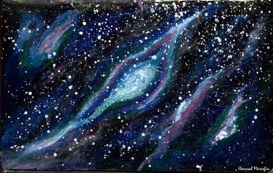 Imaginary Nebula by Hannah-Maresfin