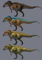 Acrocanthosaurus by Thek560