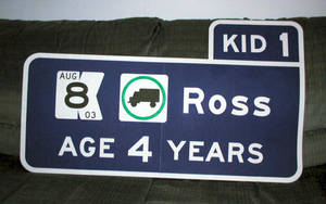Ross Advance Guide Sign by vidthekid