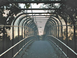 Urban Covered Bridge by vidthekid